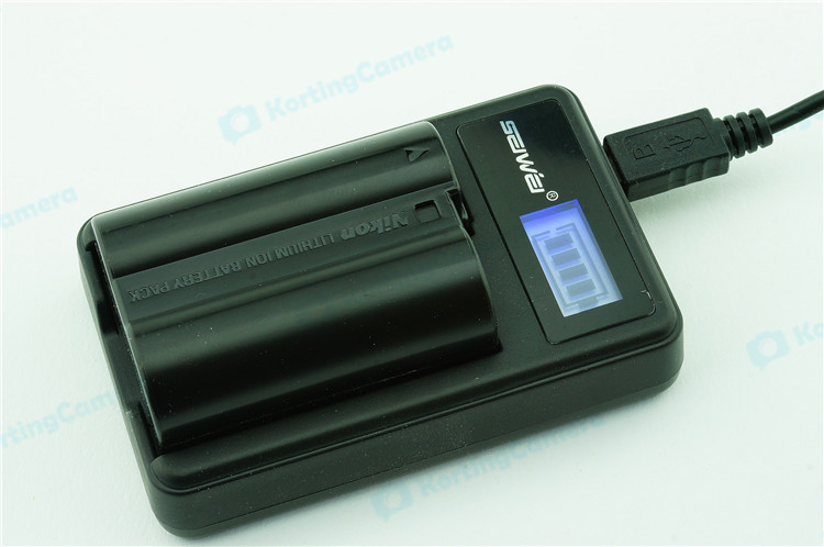 LCD usb Oplader voor accu CGA-S005 BCC12 Panasonic Lumix FZ
