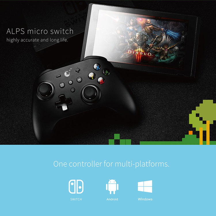 GuliKit Kingkong NS09 Pro Game Controller Switch PC Android