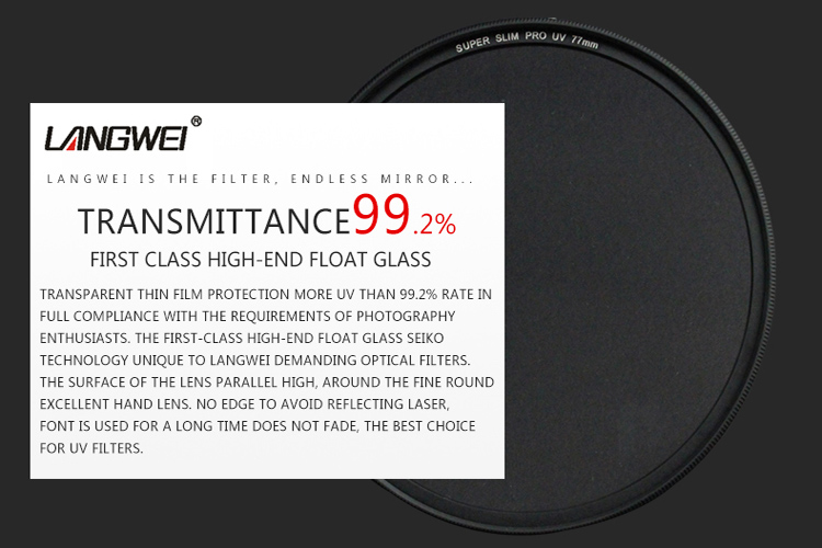46mm UV Filter Langwei Multi coating MC PRO Slim Camera lens