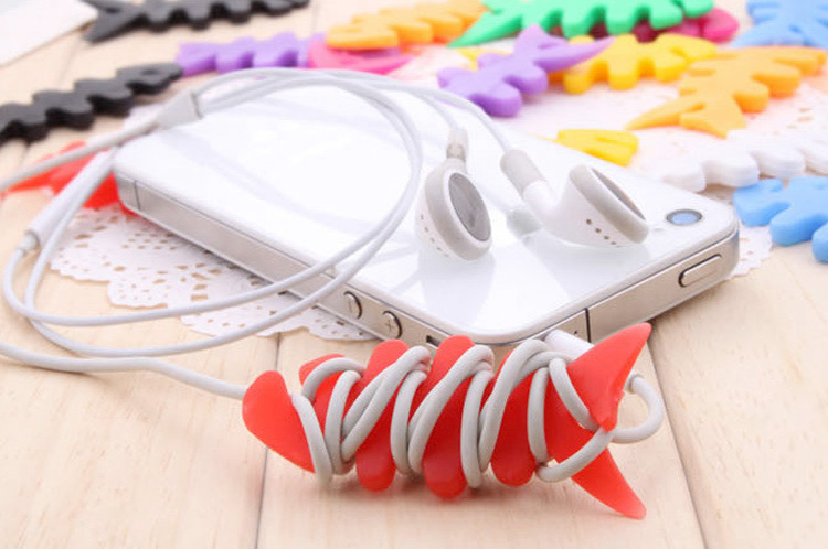 5 stuk Headphone vis Wrap Core Cord Winder