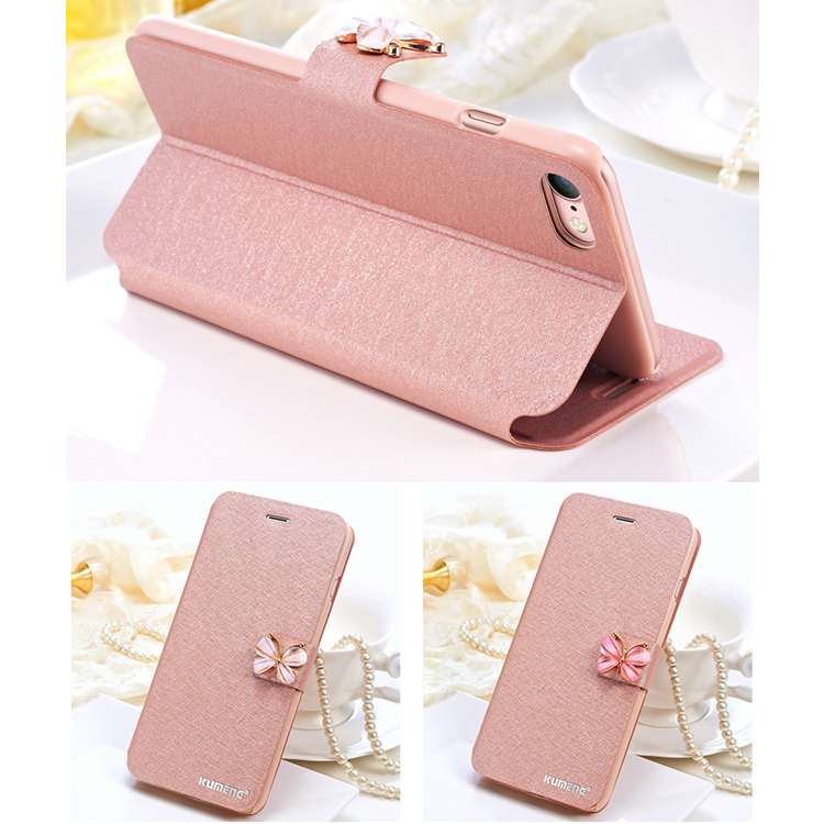 iphone x 5,8inch Luxe Case Hoes Cover Hoesje zijde Rosegoud