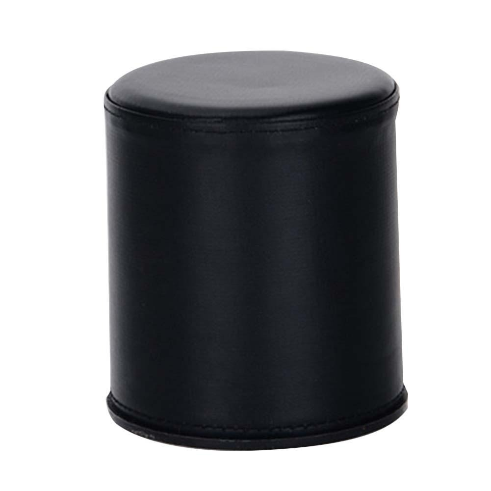 High Quality Leatherette Pu Dice Cup Bar Ktv Entertainment With 6 Dices